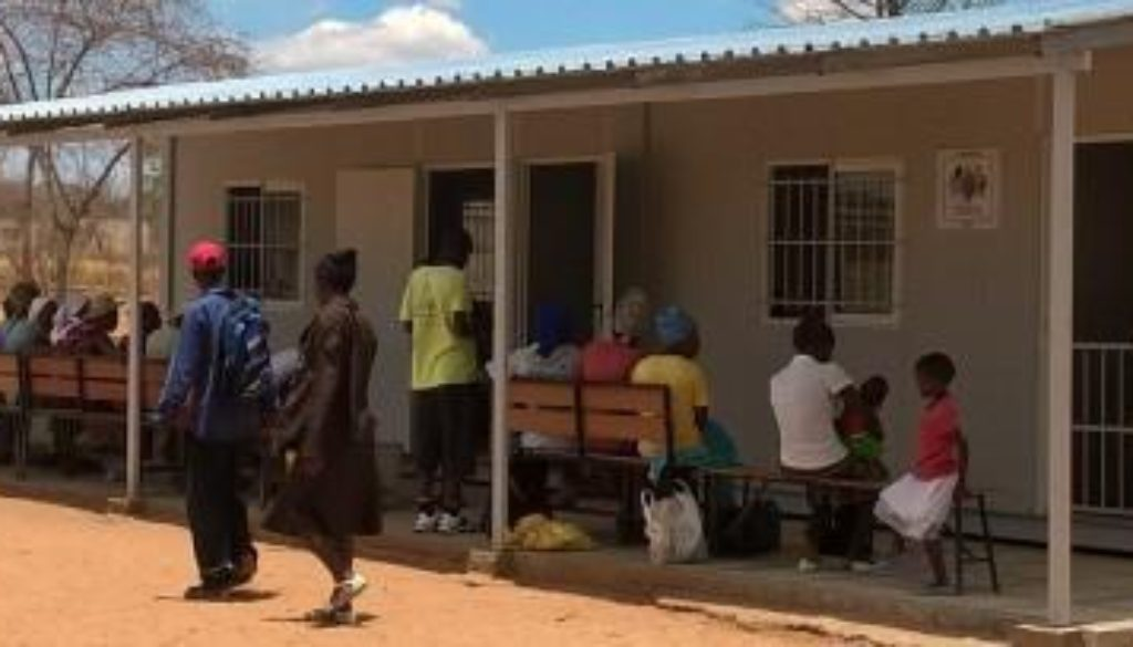 Busy clinic in a remote area