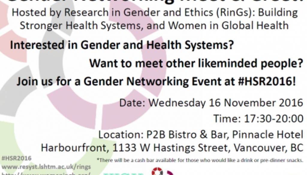 Gender Networking Meet & Greet