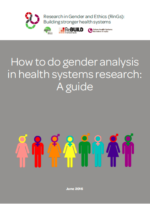 Guide: How to do gender analysis