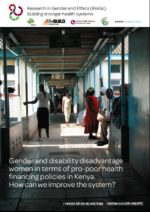 Kenya women disabilities brief