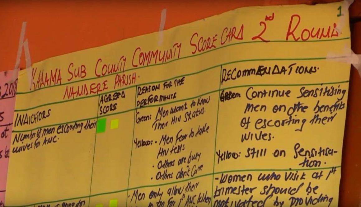 Marginalised groups complete scorecard