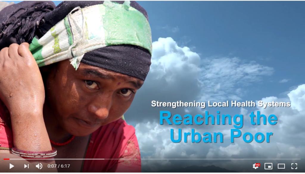 Nepal urban poor video